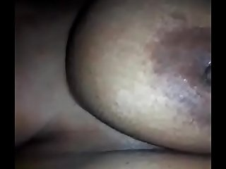 Aunty enjoyed pussy and ass licking