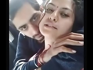 Indian Marrried Girl Romance With Ex Boyfriend In Car And Kissing Each Other Hot