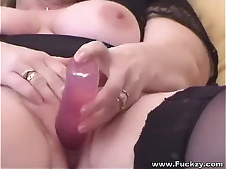 Big Beautiful Woman nonprofessional wife films her own homemade porn sextape