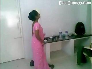 Telugu Pink Saree Hot
