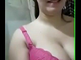 Indian Punjabi mom showing her boobs
