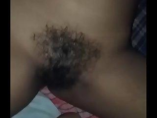 Hairy desi pussy closeup